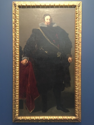"Diego Velazquez, ""Portrait of the Count-Duke of Olivares"", 1624"