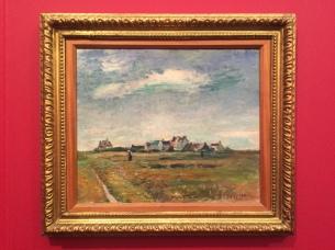 """Henry Matisse, """"Landscape in Brittany (The village Breton Belle-Ile)"""", 1897/98"""
