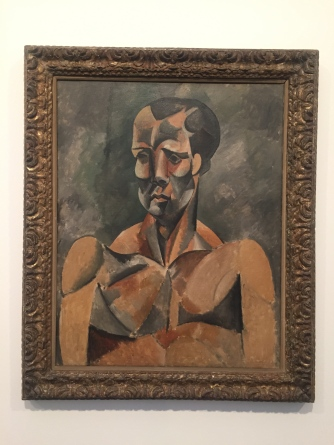 "Pablo Picasso, ""Bust of a Man"", 1909"