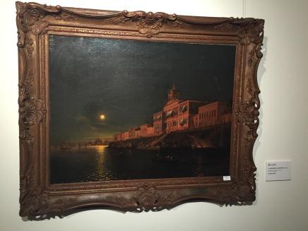 Mordvinov Alexander, Moonlight Night on an Italian Lagoon