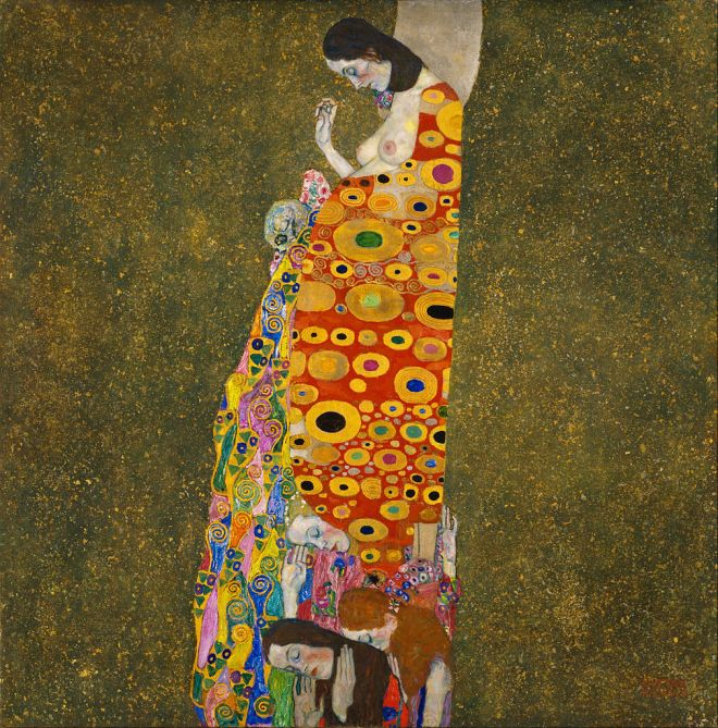 Gustav-Klimt-Hope-II